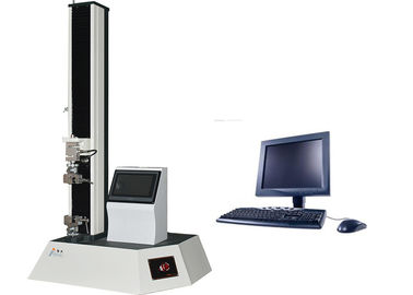 China Material Tensile Strength Tester Dual Display Double Controlled Single Column supplier