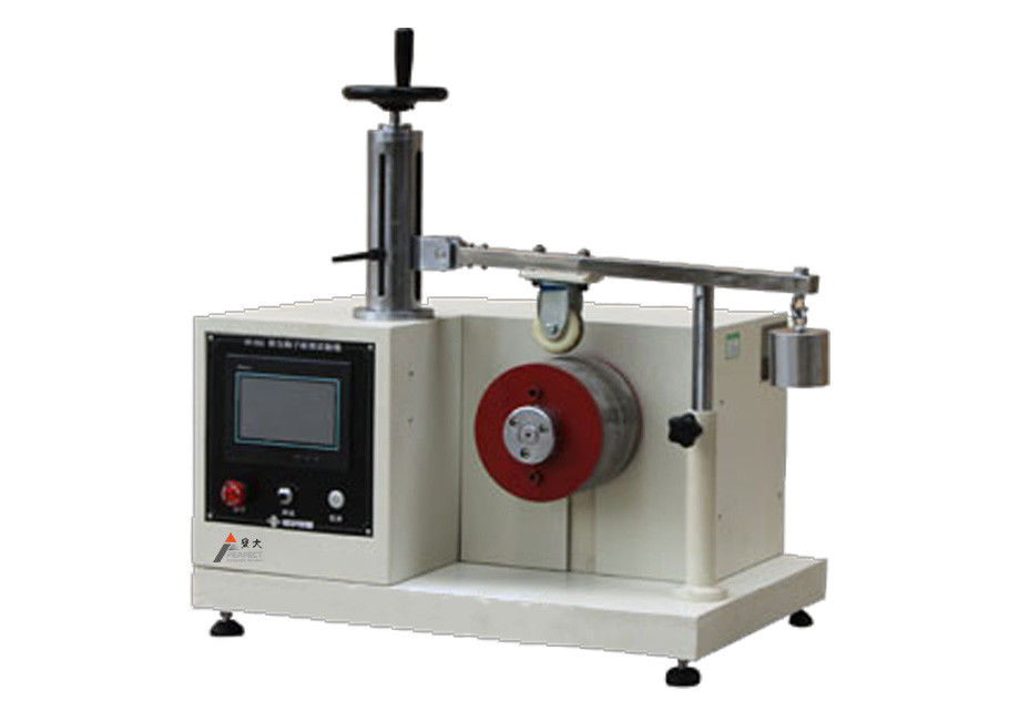 Instrument And Machine Testers : Luggage wheel abrasion testing machine suitcase resistant
