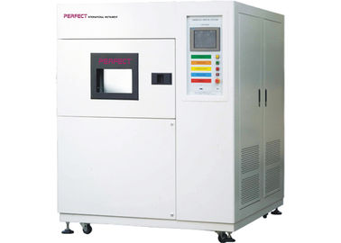 China High Low Temperature Thermal Shock Test Equipment 3 Chambers Hot Cold Impact Tester factory