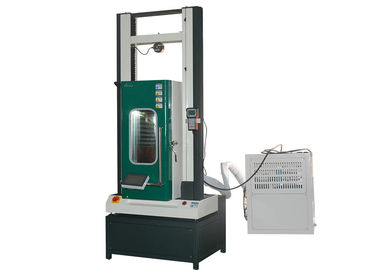 China Computer Servo Universal Material Testing Machine Temperature Controlled 150℃ distributor