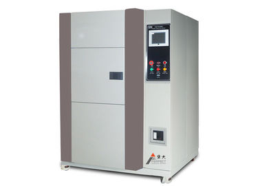 China Thermal Shock Chamber , Thermal Shock Test Equipment Air Cool For High Polymer Material distributor