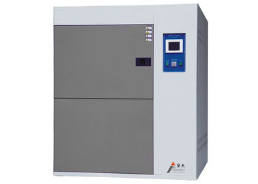 China Three Cases Trial Type Thermal Test Chamber , Air Water Cooling Hot Cold Impact Chamber distributor