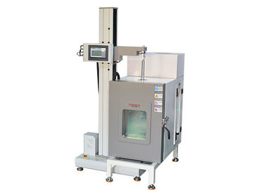 Single Arm Tensile Machine With Chamber , Custom Tensile Testing Machine High Low Temperature