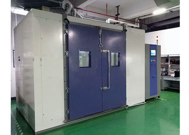 China Walk In Temperature Humidity Test Chamber , Inner Volume 8 Cubic Constant Temerature Room distributor