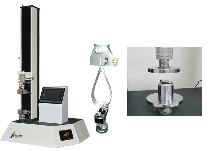 Material Tensile Strength Tester Dual Display Double Controlled Single Column