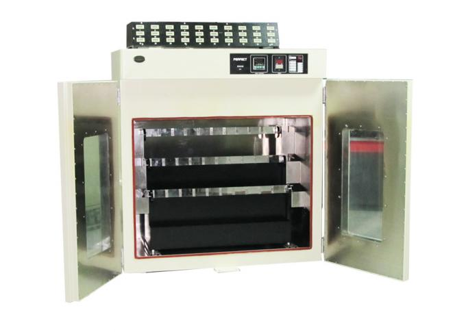 Tape Retention Adhesion Testing Machine / High Temperature Oven With 30 Sets Weight